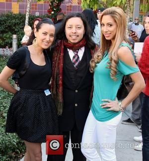 Burgandi Phoenix, Carlos Ramirez and Leila Shennib Celebrities attend Britticares Toy Drive at Children's Hospital  Los Angeles, California, USA...