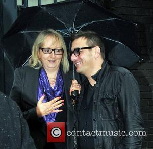 Chris Gascoyne arrives at Euston Station to attend The British Soap Awards London, England - 28.04.12