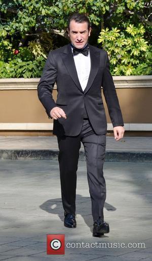 Jean Dujardin leaving the Four Seasons ahead of the Oscars Los Angeles, California - 26.02.12