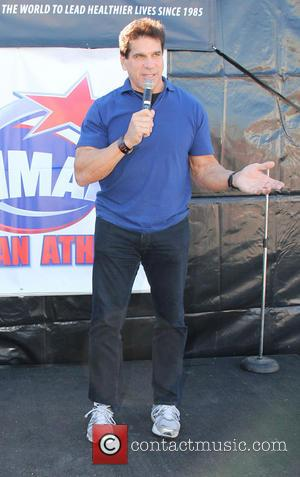 Lou Ferrigno Shape Up America Operation Fitness Health & Fitness Expo at the Vitamin Shop in Westwood  Featuring: Lou...