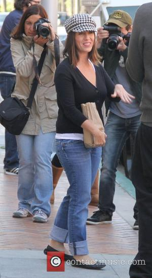 Soleil Moon Frye leaving a medical office in Beverly Hills Los Angeles, California, USA - 27.03.12