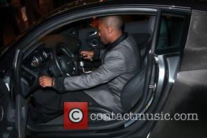 Ray J leaving The Music Box after attending a Los Angeles Boxing event in Hollywood Los Angeles, California - 04.12.11