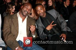 Evander Holyfield and Ray J