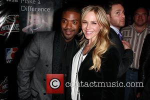Ray J and Julie Benz