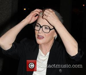 Sharon Gless  outside the RTE studios after her appearance on 'The Saturday Night Show'  Dublin, Ireland - 21.01.12