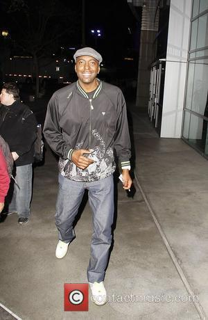 John Salley  arriving at the Staples Center for the Los Angeles Clippers v Boston Celtics basketball game  Los...