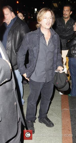 David Spade arriving at the Wiltern Theater to watch Sting in concert Los Angeles, California, USA - 29.11.11
