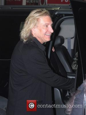 Joe Walsh leaving The Viper Room after a performance by James McCartney Los Angeles, California, USA - 27.01.11