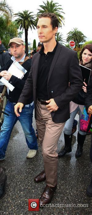 Matthew McConaughy Celebrities at Nice Airport during the 65th Cannes Film Festival  Nice, France - 21.05.12