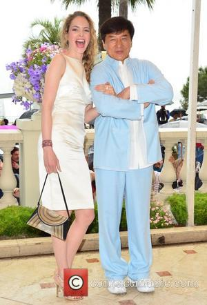 Laura Weissbecker and Jackie Chan 'Chinese Zodiac' photocall during the 65th Cannes Film Festival  Cannes, France - 18.05.12