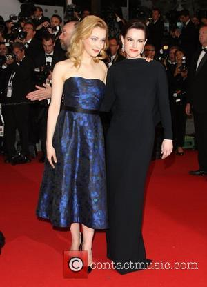 Sarah Gadon and Emily Hampshire 'Cosmopolis' premiere during the 65th annual Cannes Film Festival Cannes, France - 25.05.12