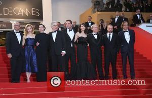 Paulo Branco, David Cronenberg, Don Delillo, Emily Hampshire, Martin Katz, Paul Giamatti, Robert Pattinson and Sarah Gadon