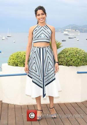 Freida Pinto and Cannes Film Festival