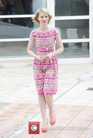 Mia Wasikowska 'Lawless' photocall during the 65th Annual Cannes Film Festival Cannes, France - 19.05.12