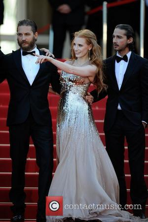 Tom Hardy, Jessica Chastain, Shia LaBeouf and Cannes Film Festival