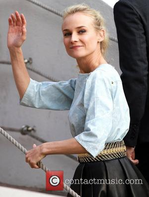 Diane Kruger Celebrities arriving at Le Grand Journal TV Show during the 65th Cannes Film Festival Cannes, France - 17.05.12