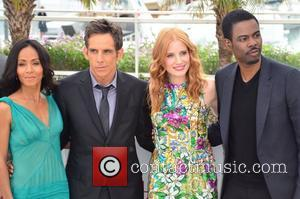 Jada Pinkett-smith, Ben Stiller, Chris Rock, Jessica Chastain and Cannes Film Festival