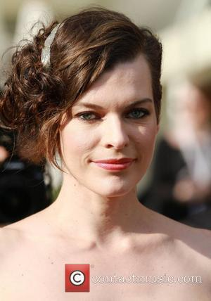 Mila Jovovich  outside the Martinez Hotel during the 65th annual Cannes Film Festival Cannes, France - 25.05.12