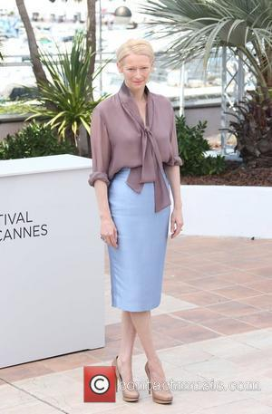 Tilda Swinton 'Moonrise Kingdom' photocall - during the 65th Cannes Film Festival Cannes, France - 16.05.12