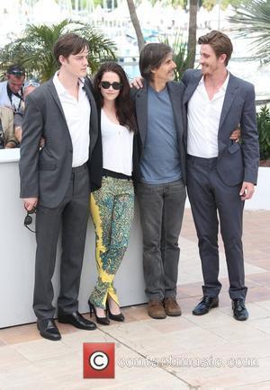 Sam Riley, Garrett Hedlund, Kristen Stewart and Walter Salles