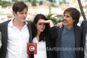 Sam Riley, Kristen Stewart and Walter Salles