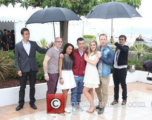 Charlie Maclean, Gary Maitland, Jasmin Riggins, William Ruane, Paul Brannigan, Siobhan Reilly 'The Angel's Share' photocall during the 65th Cannes...
