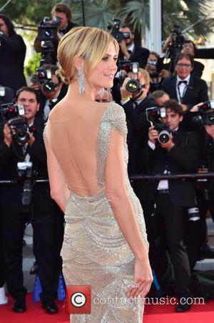 Heidi Klum and Cannes Film Festival