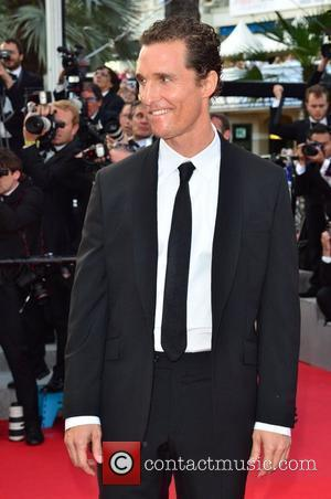 Matthew Mcconaughey and Cannes Film Festival