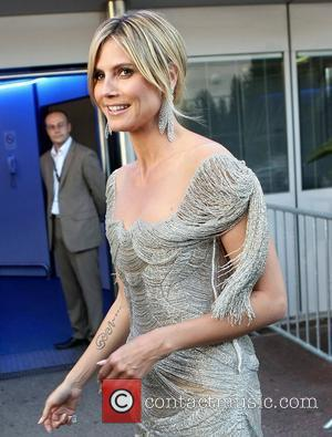 Heidi Klum, The The and Cannes Film Festival