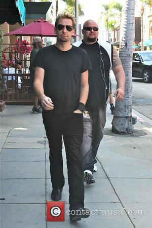 Nickelback front man Chad Kroeger is spotted out and about in in Beverly Hills Los Angeles, California - 16.06.12,