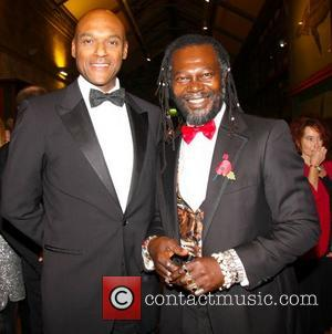 Colin Salmon and Levi Roots