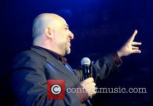 Omid Djalili attends the Chain Of Hope 2012 annual gala ball at the Natural History Museum London, England - 08.11.12