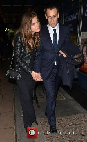 Charlotte Casiraghi and Alex Dellal Chanel: The Little Black Jacket dinner - Outside  London, England - 11.10.12