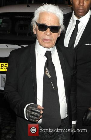 Karl Lagerfeld Chanel: The Little Black Jacket dinner - Outside  London, England - 11.10.12