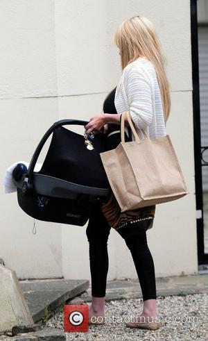 Chantelle Houghton arriving at her house Essex, England - 19.09.12
