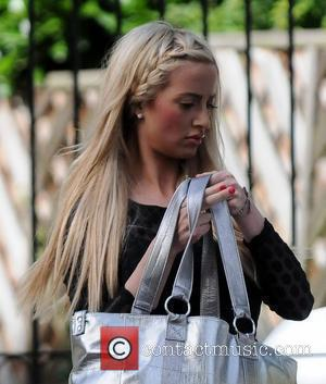 Chantelle Houghton outside her house Essex, England - 06.09.12