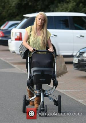 Chantelle Houghton out and about in Brentwood with her daughter Dolly Essex, England - 11.09.12