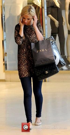 Chantelle Houghton shopping at Lakeside shopping centre Essex, England - 26.09.12