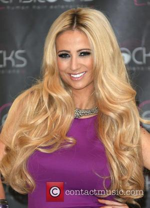 Chantelle Houghton launches Easilocks extensions at the Worx Studios  Featuring: Chantelle HoughtonWhere: London, United Kingdom When: 05 Dec 2012