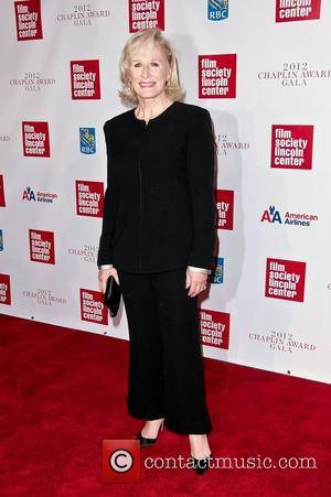 Glenn Close at the 39th Annual Chaplin Award Gala New York CIty, USA - 02.04.12