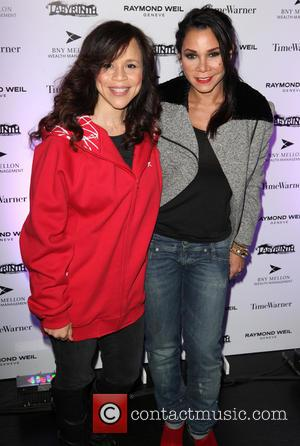 Daphne Rubin-vega, Rosie Perez and Labyrinth Theater Company Celebrity Charades