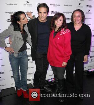 Daphne Rubin-vega, Yul Vazquez, Rosie Perez, S. Epatha Merkenson and Labyrinth Theater Company Celebrity Charades