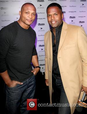 Eddie George, A.j. Calloway and Labyrinth Theater Company Celebrity Charades