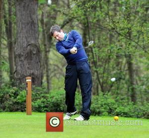 Declan Donnelly Caudwell Children Celebrity Golf Classic held at Foxhills Hotel and Resort Surrey, England - 26.04.12