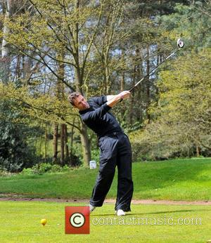 Jonathan Wilkes Caudwell Children Celebrity Golf Classic held at Foxhills Hotel and Resort Surrey, England - 26.04.12