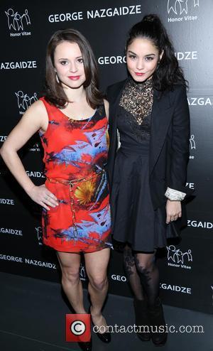 Sasha Cohen and Vanessa Hudgens
