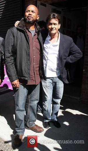 Michael Boatman and Charlie Sheen