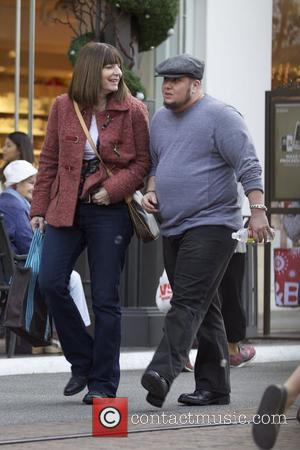 Chaz Bono  and girlfriend seen Christmas shopping at The Grove Los Angeles, California - 21.12.12