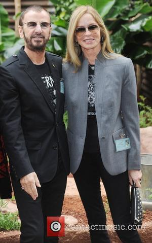 Ringo Starr and Barbara Bach  Chelsea Flower Show Press Day  London, England - 21.05.12