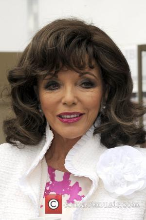 Joan Collins The RHS Chelsea Flower Show 2012 - Press Day - Inside London, England - 21.05.12